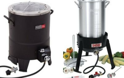 Outdoor turkey fryer reviews oil free and oil propane